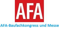 AFA-Baufachkongress und Messe