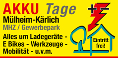 Messe AKKU Tage Mülheim-Kärlich